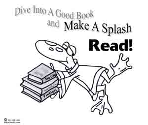 Coloring Page Make A Splash Read