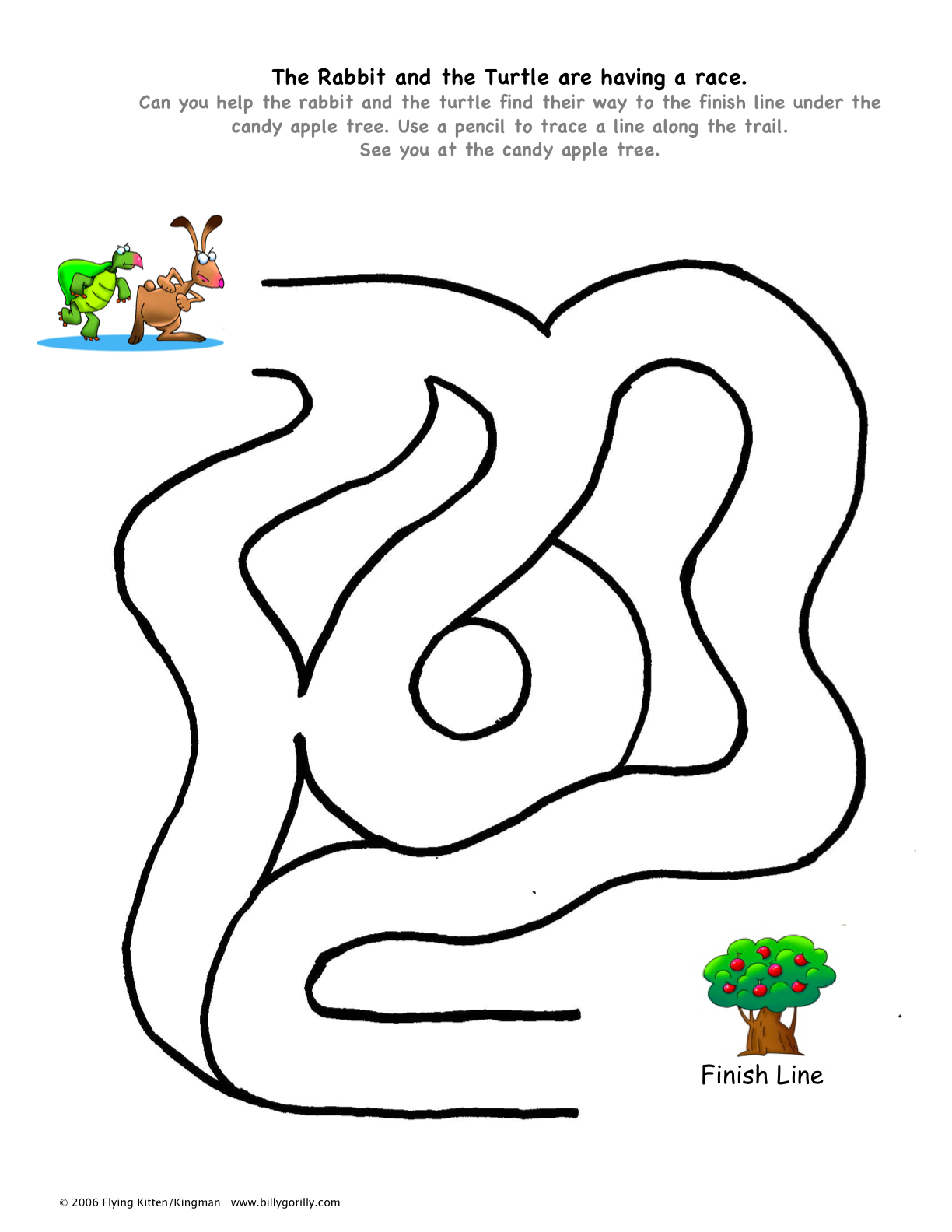 ... (eg give instructions for following a path through a simple maze