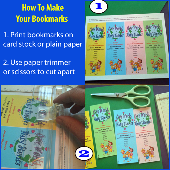 Bookmark Craft for One World Many Stories @ Your Library