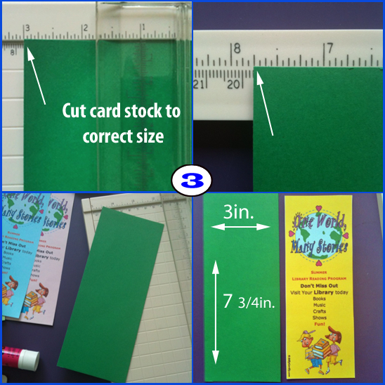Bookmark Template for Kids Summer Reading Program