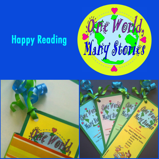 Bookmark for Kids Summer Reading Program