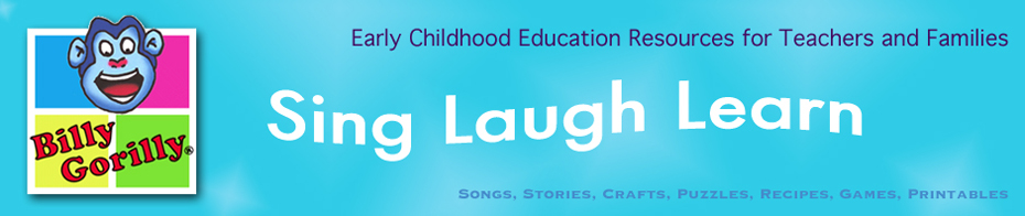Site aimed at parents and teachers of young children offering songs, stories, crafts, recipes, &amp; printables