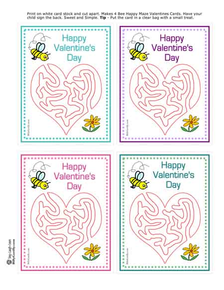 Kids valentine card template sing laugh learn print card maxwellsz