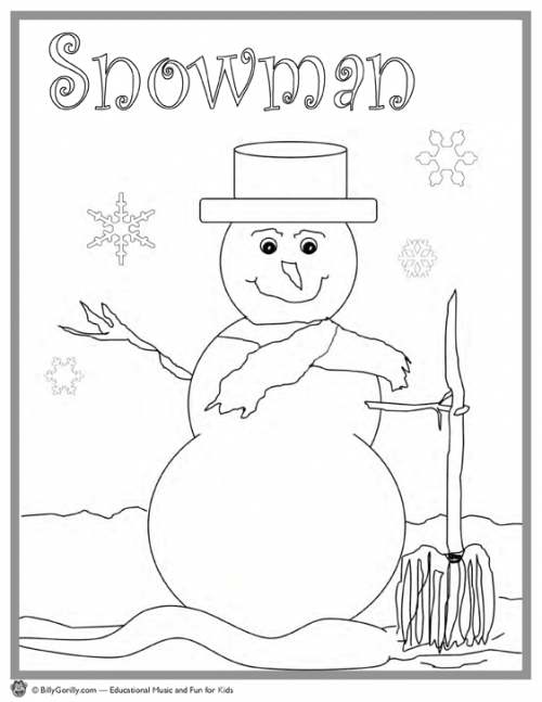 15 winter holiday coloring pages for kids sing laugh learn. Black Bedroom Furniture Sets. Home Design Ideas