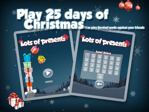 Lots of Presents iPad app