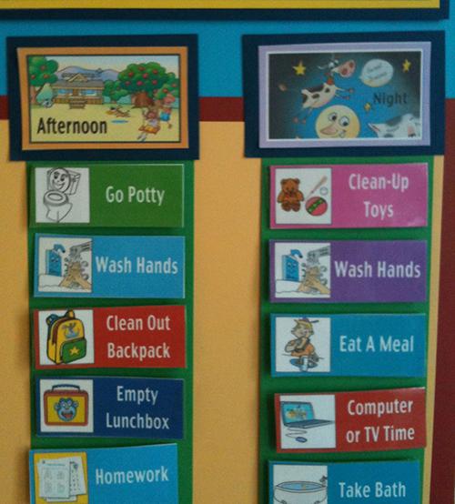 Kids Routine Chart