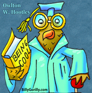 Owlton W. Hootley sings his song Hopping Toads and Jumping Frogs