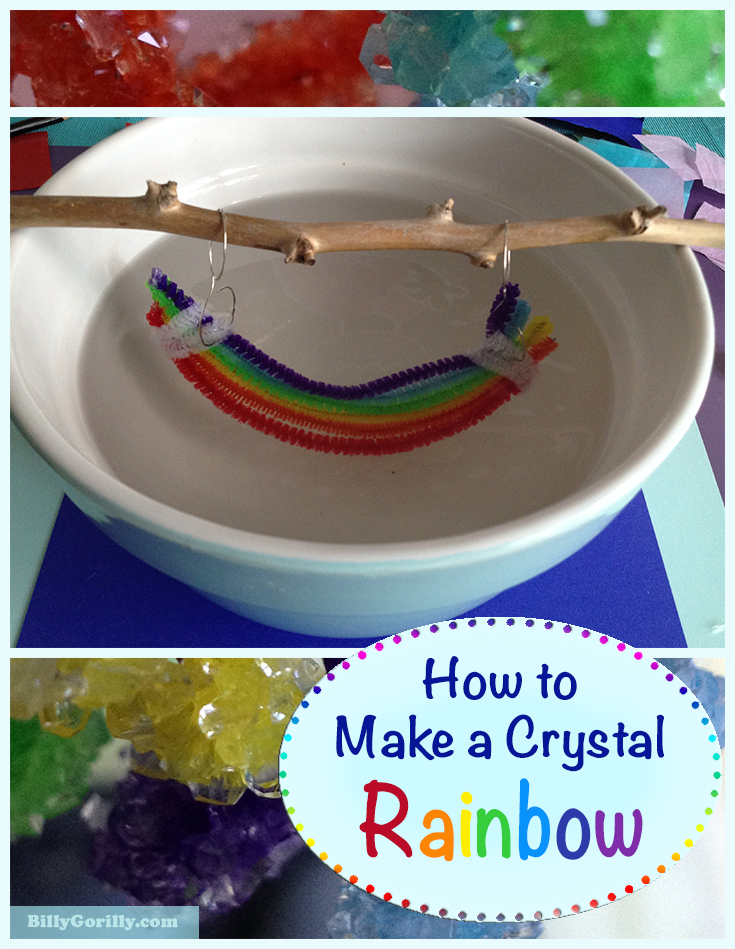 How to Make a Borax Crystal Rainbow