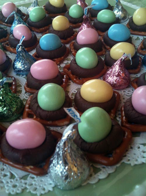 Easter Candy Nests