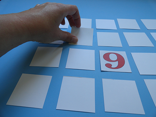 Game Pieces for Months of the Year Memory Game
