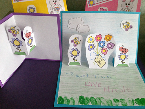 Kids Easter Card Craft