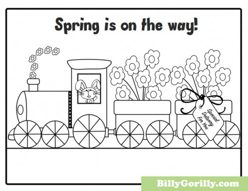 Printable Spring Coloring Pages | Sing Laugh Learn