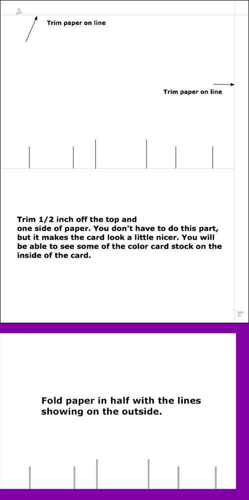 how to make a popup card