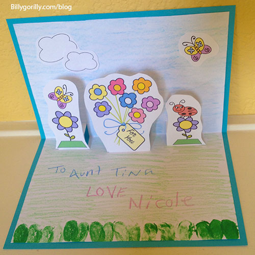DIY Easter Card for Kids to Make
