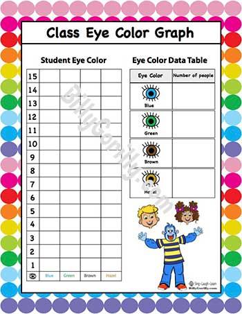 Class Eye Color Graph