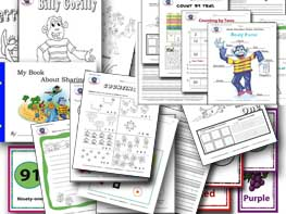 Printable Worksheets Preschool - Gr1